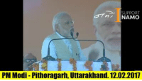 Memes, Narendra Modi, and 🤖: SUPPORT  ni NAMO  PM Modi Pithoragarh, Uttarakhand. 12.02.2017 LIVE : PM Narendra Modi's public rally in Pithoragarh, Uttarakhand लाइव : पीएम नरेन्द्र मोदी जी की पिथौरागढ़, उत्तराखंड में रैली Watch On Youtube : https://www.youtube.com/watch?v=RdrxlX4vYrQ