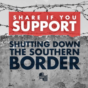 Do you agree with President Trump on completely closing the southern border with Mexico until the crisis subsides?: SUPPORT  SHUTTING DOWN  THE SOUTHERN  BORDER Do you agree with President Trump on completely closing the southern border with Mexico until the crisis subsides?
