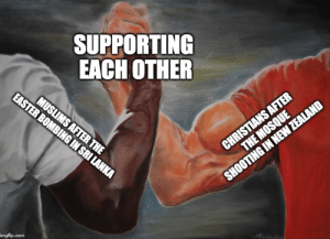 Tumblr, Blog, and Com: SUPPORTING  EACH OTHER  imgflip.com awesomacious:  Brotherhood