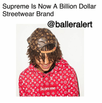 """Supreme Is Now A Billion Dollar Streetwear Brand -blogged by @peachkkyss ⠀⠀⠀⠀⠀⠀⠀ ⠀⠀⠀⠀⠀⠀⠀ Streetwear Brand, Supreme, is officially worth a billion dollars. ⠀⠀⠀⠀⠀⠀⠀ ⠀⠀⠀⠀⠀⠀⠀ According to Women's Wear Daily, the Carlyle Group purchased a stake in the company worth $500 million. The deal was reportedly a 50 percent agreement, which brings the market value around $1 billion. ⠀⠀⠀⠀⠀⠀⠀ ⠀⠀⠀⠀⠀⠀⠀ The Supreme founder JamesJebbia spoke with Business of Fashion and stated, """"We're a growing brand, and to sustain that growth we've chosen to work with Carlyle, who has the operational expertise needed to keep us on the steady path we've been on since 1994. Working with Carlyle allows us to concentrate on doing what we do best and remain in control of our brand, as we always have."""" ⠀⠀⠀⠀⠀⠀⠀ ⠀⠀⠀⠀⠀⠀⠀ The brand has truly evolved this year with the collaboration with LouisVuitton, celebrities, and with the opening of their new Brooklyn shop. The company is taking the necessary steps to be successful and we've seen many companies do that this year from Michael Kors, Coach, and more.: Supreme ls Now A Billion Dollar  Streetwear Brand  @balleralert  Supree Supreme Is Now A Billion Dollar Streetwear Brand -blogged by @peachkkyss ⠀⠀⠀⠀⠀⠀⠀ ⠀⠀⠀⠀⠀⠀⠀ Streetwear Brand, Supreme, is officially worth a billion dollars. ⠀⠀⠀⠀⠀⠀⠀ ⠀⠀⠀⠀⠀⠀⠀ According to Women's Wear Daily, the Carlyle Group purchased a stake in the company worth $500 million. The deal was reportedly a 50 percent agreement, which brings the market value around $1 billion. ⠀⠀⠀⠀⠀⠀⠀ ⠀⠀⠀⠀⠀⠀⠀ The Supreme founder JamesJebbia spoke with Business of Fashion and stated, """"We're a growing brand, and to sustain that growth we've chosen to work with Carlyle, who has the operational expertise needed to keep us on the steady path we've been on since 1994. Working with Carlyle allows us to concentrate on doing what we do best and remain in control of our brand, as we always have."""" ⠀⠀⠀⠀⠀⠀⠀ ⠀⠀⠀⠀⠀⠀⠀ The brand has truly evolved this year with the collaboration wit"""