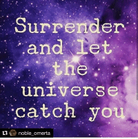 Repost @noble_omerta with @repostapp: Surrender  Let  an  universe  catch you  ti  noble omerta Repost @noble_omerta with @repostapp