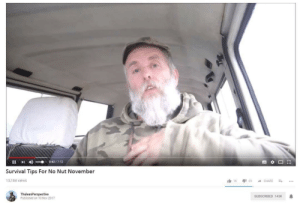 gamergatehd:Thanks Varg I really needed this: Survival Tips For No Nut November  13,184 views  ThuleanPerspective  Published on 10 Nov 2017  SUBSCRIBED 143K gamergatehd:Thanks Varg I really needed this