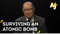 73 years ago today, the U.S. dropped the world's first atomic bomb on Japan's Hiroshima, killing over 140,000 people.: SURVIVING AN  ATOMIC BOMB 73 years ago today, the U.S. dropped the world's first atomic bomb on Japan's Hiroshima, killing over 140,000 people.
