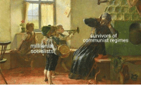 (CS): survivors of  communist regimes  millilenial  soeialists (CS)