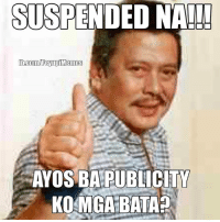 ICYMI: #WalangPasok ALL LEVELS ang Manila!!! Wooohooo! Maraming salamat po Mayor President Chief Justice Senator Congressman Oppa Joseph Ejercito Estrada!!!  NOTE: For publicity stunt only.: SUSPENDED NA!  AYOS BA PUBLICITY  KOMGA BATA? ICYMI: #WalangPasok ALL LEVELS ang Manila!!! Wooohooo! Maraming salamat po Mayor President Chief Justice Senator Congressman Oppa Joseph Ejercito Estrada!!!  NOTE: For publicity stunt only.