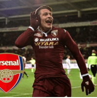 Memes, 🤖, and Suzuki: Suzuki  Transfer talk  La  rsenal Arsenal have entered the race to sign €50m-rated Torino striker Andrea Belotti at the end of season.