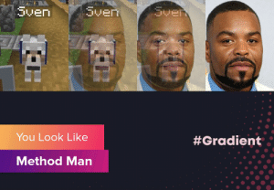 Wow, this is pretty cool.: Sven  Sven  Sven  You Look Like  #Gradient  Method Man Wow, this is pretty cool.