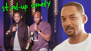 Bucket List, Dank, and Dave Chappelle: Svnd-up con  NFIDENT I only had 7 days to get a set together before performing stand up comedy live on stage for the first time ever. Shout out to the legend Dave Chappelle for showing me the ropes!! New episode of Will Smith's Bucket List streaming now!