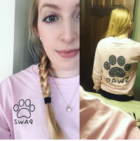 Thanks @k6will for the support in our grapefruit black paisley long sleeve 💅 order now at PawzShop.com: SWAG Thanks @k6will for the support in our grapefruit black paisley long sleeve 💅 order now at PawzShop.com