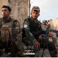 3-7 🇮🇶 📷:@achilleaszavallis ✍️:@dgold0101 Qaraqosh, Iraq. Members of the NPU Christian militia during a break from patrolling the streets of Qaraqosh, a predominantly christian town that until recently was under the control of ISIS. Read more and watch the video on the link in our bio: SWAT  I WIRE  DISPATCHES BY  ELAD bible 3-7 🇮🇶 📷:@achilleaszavallis ✍️:@dgold0101 Qaraqosh, Iraq. Members of the NPU Christian militia during a break from patrolling the streets of Qaraqosh, a predominantly christian town that until recently was under the control of ISIS. Read more and watch the video on the link in our bio