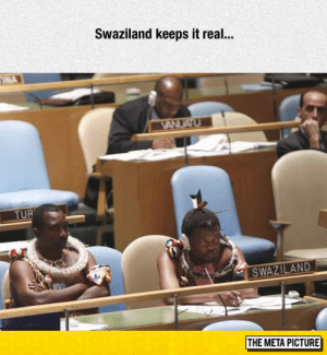 Tumblr, Blog, and Http: Swaziland keeps it real..  SWAZILAND  THE META PICTURE srsfunny:Very Nation Should Do This