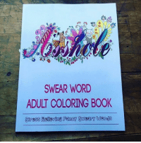 Dank Book And Fancy SWEAR WORD ADULT COLORING BOOK Stress Relieving Sweary Words