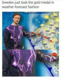 "<p>Sweden&rsquo;s meteorologist fashion trends via /r/memes <a href=""http://ift.tt/2zUbcpn"">http://ift.tt/2zUbcpn</a></p>: Sweden just took the gold medal in  weather forecast fashion  1s  13  16 <p>Sweden&rsquo;s meteorologist fashion trends via /r/memes <a href=""http://ift.tt/2zUbcpn"">http://ift.tt/2zUbcpn</a></p>"