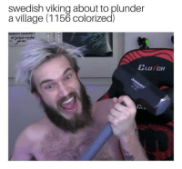 "Dank, Meme, and History: swedish viking about to plunder  a village (1156 colorized)  CLUTCH <p>History lesson via /r/dank_meme <a href=""http://ift.tt/2FfPApL"">http://ift.tt/2FfPApL</a></p>"