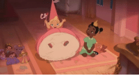 sweetmadameblue:  jgaskisanerd:  invinciblend:  iamabutchsolo:  Something that I think people vastly overlook in The Princess and the Frog is the friendship between Tiana and Charlotte. It may be only a small part in the film, but in the scheme of Disney movies, this is a revolutionary element. If you trace the history of all of the other Disney princesses - Ariel, Belle, Cinderella, Snow White, Aurora, Pocahontas, Jasmine, Rapunzel - no other princess is shown as having a female friend. Some may have mother figures such as Grandmother Willow in Pocahontas or the various fairy godmothers, and Ariel has sisters, but the princesses rarely interact with other women as friends. The Princess and the Frog is the only Disney princess film that actually shows women being friends with each other. Charlotte and Tiana were pals since childhood, and not once did we see Charlotte ever do anything but be a good friend, not falling into any pitfalls of petty friendships or letting class differences affect their relatiojship. When Tiana is trying to earn money on her own? Charlotte hires her knowing that it will help Tiana's goal. When Tiana fell at Charlotte's ball and much of the desserts were ruined? Charlotte didn't care about the food, her number one concern was to make sure Tiana was alright. And when Charlotte learns that Tiana loved Prince Naveen? Charlotte didn't even flinch; she was willing to forgo her own aspirations of being a princess because she cares about Tiana's happiness more. I think this aspect of the film is what in my mind, separates it from other Disney princess movies. It deserve a lot more credit for being the only princess film that actually shows women being friends with each other, helping each other, and caring about each other.  The Princess and the Frog shows a better female friendship than a lot of movies, even outside of princess or animated films. It was really one of my favourite bits of the movie and to say that it avoids the pitfalls is so true