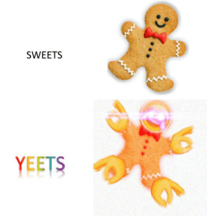 Sweets and Yeets: SWEETS  YEETS