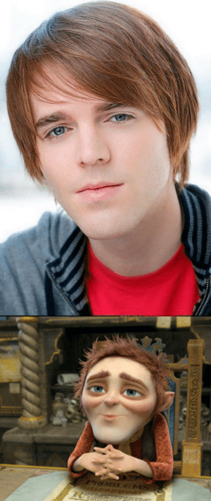 Internet, Shrek, and Target: sweettoothinsomniac:Okay so I have never watched a Shane Dawson video ever so I don't know if I like him or not, but I've seen his face on the internet and his features really reminded me that of rumplestiltskin on the last Shrek.