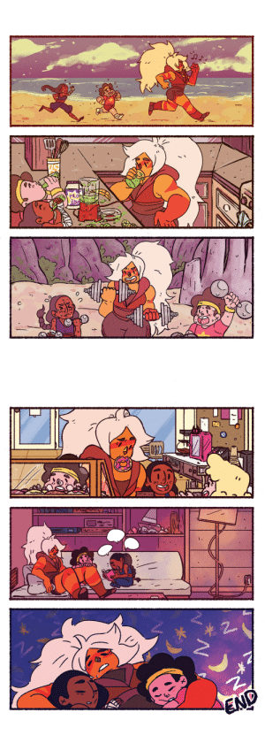Tumblr, Best, and Blog: swindle94:  bitter-sweet-tao: Seems the zine i did this comic for fell through the cracks, sooooo I'mma post it! Jasper w/ the kids :')   MAMA JASPER IS THE BEST!!!!!