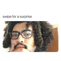 Funny, Lol, and Dick: swipe for a surprise I was expecting it to be a dick pick but it wasn't and I thought I'd be thankful but weirdly I'm sad lol