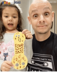9gag, Memes, and Party: swithattitude IG  GAG  EN DANCE PARTY MIx She made a ...giraffe!🦒 Congrats to @dadswithattitude on becoming our 9GAGFunOff Week 5 winner! - Submit your videos to @funoff link in bio to win $10,000 USD! - 9gag giraffe drawing