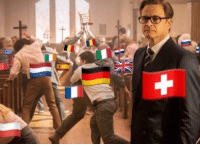 Switzerland, World, and World War II: Switzerland becomes neutral at the start of World War II (1940 colorized)