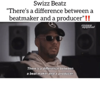 "Legendary producer Swizz Beats speaking faxxx⁉️are you going to cop his new album poison⁉️ via @massappeal Follow @bars for more ➡️ DM 5 FRIENDS: SwizZ BeatZ  ""There's a difference between a  beatmaker and a producer""!!  masSS  appeal  There's a difference between  a beat maker and a producer Legendary producer Swizz Beats speaking faxxx⁉️are you going to cop his new album poison⁉️ via @massappeal Follow @bars for more ➡️ DM 5 FRIENDS"