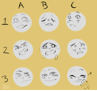 Love, Meme, and Target: swooning-over-stardust:  sup i made an expression meme just for fun!!please credit if u use this and also maybe tag me bc i'd love to check ur art out