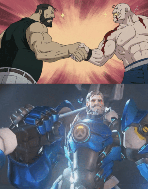 "God, Tumblr, and Blog: swordofparacelsius:  marvelous-mammoth:Fuse those two men together and you get the epitome of manliness   oh sure, fuse those two together and you get ""a paragon of masculinity and justice"",  but when I fuse my daughter and my dog suddenly it's ""incredibly illegal"" and ""spitting in the eyes of God"""
