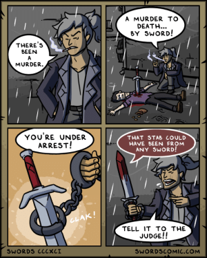 Swords ~ The Murder Weapon: Swords ~ The Murder Weapon