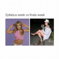 Finals Week Meme: Syllabus week ws finals week