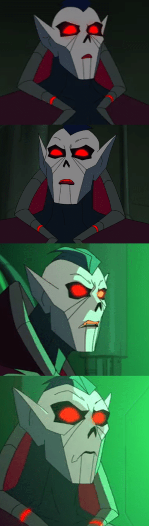 symbiotic-toxin:  The faces Hordak made while being bamboozled by Entrapta are a gift that needs to be shared.: symbiotic-toxin:  The faces Hordak made while being bamboozled by Entrapta are a gift that needs to be shared.