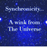 Pay close attention to the signs 🙏🏻: Synchronicity  A wink from  The Universe  9e Pay close attention to the signs 🙏🏻