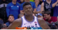 Memes, Syracuse , and 🤖: SYRACUSE  1DUKE  :14-1 0-0)  11-5 (2-1)  30 1st This is what happens when you try to take a charge from Zion Williamson!   (Via @VersaceBoyEnt2)  https://t.co/9Mwe5OIwD2