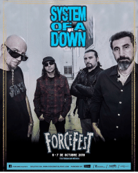Memes, Link, and Live: SYSTEM  DOWN  0  FOROFES  6-7 DE OCTUBRE 2018  TEOTIHUACAN MEXICO  AFORCEMETALFEST  피  /t Ameer-/계齒/uvE@w  LIVE TALENT  BOLETOS EN: www.FORCEMETALFEST.COM POWERED BY We're headlining @ForceFest in October. Tickets on sale now. Link in bio. forcefest systemofadown soad2018 mexico