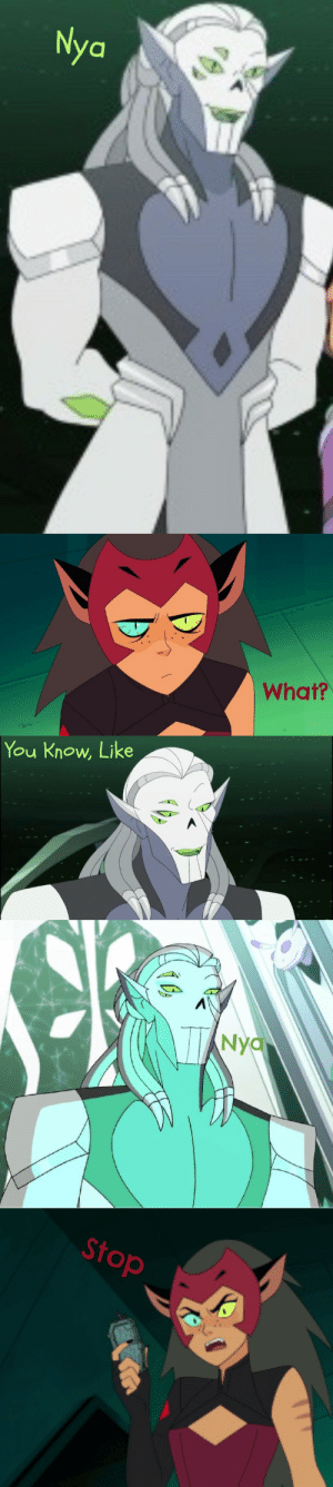 systemofthehorde:  Horde Prime tries to talk to Catra 🙄: systemofthehorde:  Horde Prime tries to talk to Catra 🙄