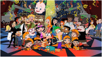 "After 126 episodes, 5-hr specials & a TV movie, Phineas & Ferb will air its final episode Last Day Of Summer in June.: t  6"" After 126 episodes, 5-hr specials & a TV movie, Phineas & Ferb will air its final episode Last Day Of Summer in June."