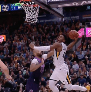 Memes, Sports, and Atat: T 94  ATAT SPORTS Donovan Mitchell this is just filthy 😮