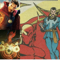 Doctor, Future, and Marvel Comics: T  :es Krugarr is a worm-like alien part of a race called the Lem. In the Marvel comics, he was discovered and trained by none other than Doctor Strange! He would master the mystic arts and become the future Sorcerer Supreme.  While he is a member of Stakar Ogord's crew, should Krugarr also become a supporting character of Strange in the MCU? An alien trained in the same mystic arts as Earth's protectors raises some interesting questions.   (Andrew Gifford)