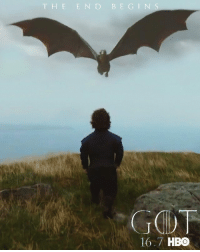 46 days until Game of Thrones season 7! https://t.co/lpDBcMNzhe: T H E E N D B E G I N S  167 HBO 46 days until Game of Thrones season 7! https://t.co/lpDBcMNzhe