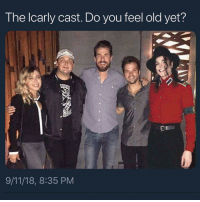 9/11, Memes, and Link: T he lcarly cast. Do you feel old yet?  9/11/18, 8:35 PM Dan Schneider is a pedophile type beat 🔥🔥🔥🔥🔥 link in bio !