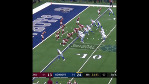 To another year of @Dak Dives 🙌💯 https://t.co/yCEqrABfLX: t i-  3RD&GOAL  INS  6-4 13  COWBOYS  5-5 24  4th 14:21  07  3rd & To another year of @Dak Dives 🙌💯 https://t.co/yCEqrABfLX