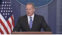 Memes, 🤖, and Ing: (***t  ING TON WATCH LIVE: President Trump's White House Press Secretary Sean Spicer speaks to reporters about President Trump's agenda and day's activities.