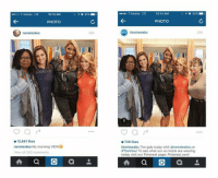 Lmfaooo the SHADE...: T-Mobile LTE  10:13 AM  PHOTO  neneleakes  010,661 likes  neneleakes My morning VIEW8  A a  Mobile UE  10:14 AM  PHOTO  theviewabc  749 likes  theviewabc The gals today with @neneleakes on  AThe View! To see what our co-hosts are wearing  today visit our Pinterest page: Pinterest.com/  A a a Lmfaooo the SHADE...
