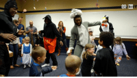 Bugs Bunny, The Hulk, Batman and more. @ndfootball showed out on Halloween weekend for a good cause BRxND: )T  Note,  b  ss  坉 Bugs Bunny, The Hulk, Batman and more. @ndfootball showed out on Halloween weekend for a good cause BRxND