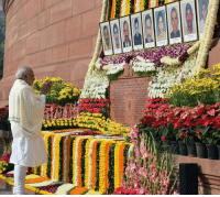 Salutations to the martyrs who sacrificed their lives during the 2001 Parliament attack. Their bravery will never be forgotten : PM Shri Narendra Modi: t Salutations to the martyrs who sacrificed their lives during the 2001 Parliament attack. Their bravery will never be forgotten : PM Shri Narendra Modi