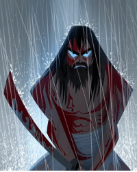 Samurai Jack is Back!!! Shit this was and STILL is my show!! Is it just me or does he remind you of Wolverine? Lol 🤔: t Samurai Jack is Back!!! Shit this was and STILL is my show!! Is it just me or does he remind you of Wolverine? Lol 🤔