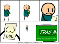 Come watch me murder the hell out of some cannibals! Also make trail mix? And give sex advice?  🔵 The Forest 👉 http://www.twitch.tv/MattMelvin: T T  LOL  Warning: May contains traces of nuts  Cyanide and Happiness O Explosm.net Come watch me murder the hell out of some cannibals! Also make trail mix? And give sex advice?  🔵 The Forest 👉 http://www.twitch.tv/MattMelvin