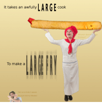Make A, Can, and All: t takes an awuly LARGE cook  Whomst desire/a large  fryboye?  To make a  That's not at all what I requested  ge  Can you plz return my rhibosomes? <p>Dreadful</p>