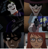Batman, Memes, and Hood: t_tH  ttt From @dccomicsunited - Jason & Barbara - Batman: Under the Red Hood Batman: The Killing Joke - regrann