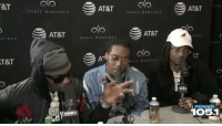 Memes, Migos, and 🤖: &T  TINE Z  T&T  ANGIE MARTINEZ  AT&T  AT&T  ANGIE MARTINEZ  ANGIE MARTINEZ  AT&T  S i MARTINI  AT&T  NEI  RT  1 POWER  1O51 Migos talk with AngieMartinez about a class on Culture they're giving at NYU! 👀👍💯 @Migos @AngieMartinez @Power1051 WSHH